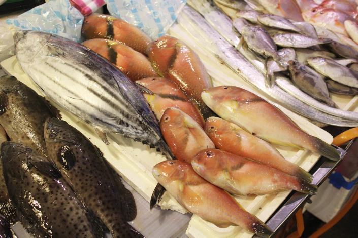 臺北漁產公司理貨零批場•8排14號