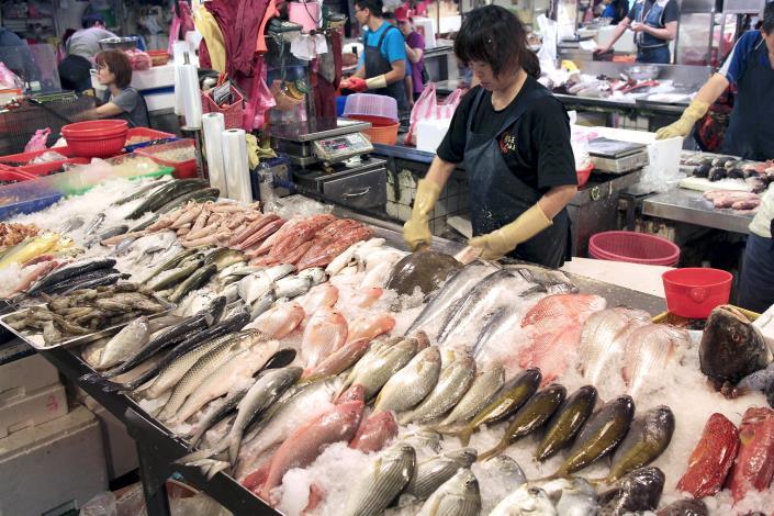 臺北魚市理貨零批場-9排10號