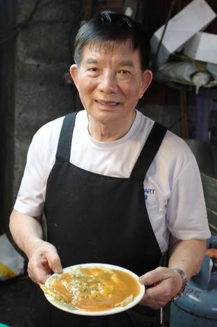 臨江街夜市•吉雞蛋蚵仔煎
