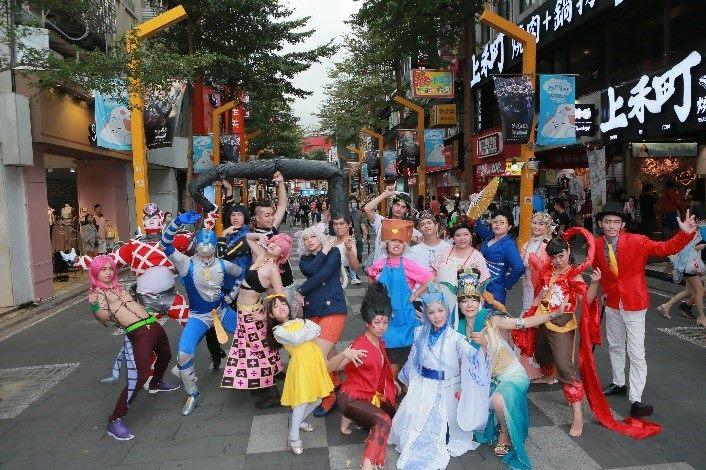 「2020西門商圈『友善享樂祭』第七屆Cosplay決戰西門町」活動示意圖
