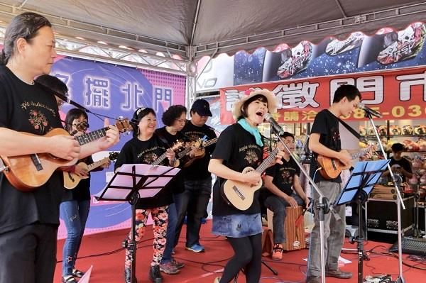 新中華路影音電器街響樂搖擺北門活動