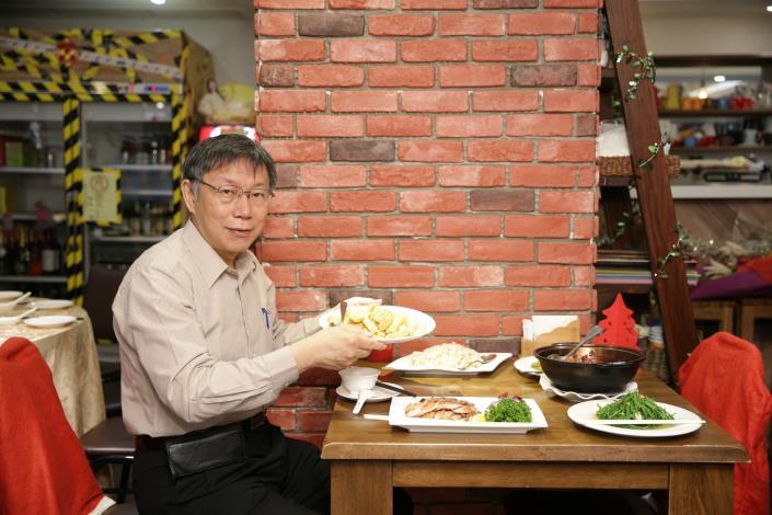 市長於西湖商圈推廣美食