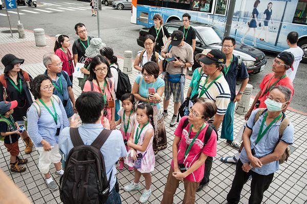 大同小旅行第6場次 導覽老師介紹雙連站歷史