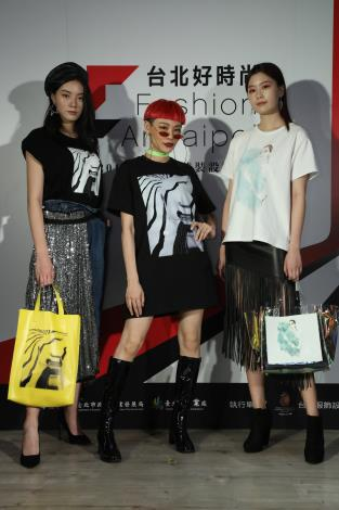 藝術造型師Judy展示台北好時尚跨界合作作品.JPG