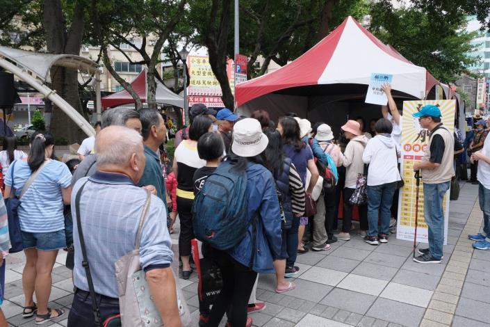 現場吸引許多民眾參與活動