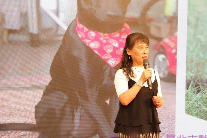 圖2.教育局副局長何雅娟呼籲學校配合校園犬貓計畫
