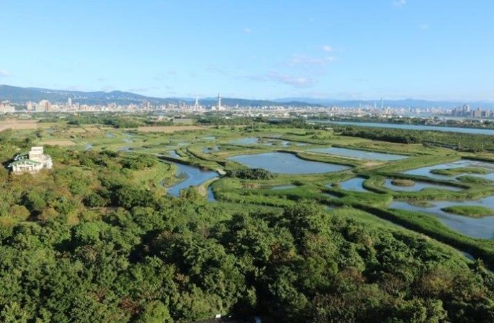 圖六:關渡自然公園擁有豐富的生態與濕地環境,邀民眾一起來走春、親近大自然。