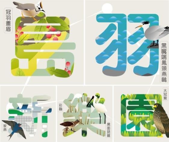圖一、鳥樂園藏寶圖臉書打卡活動