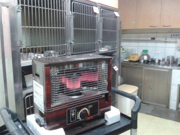圖4、寒流來襲,塵封的電暖器也再度派上用場。