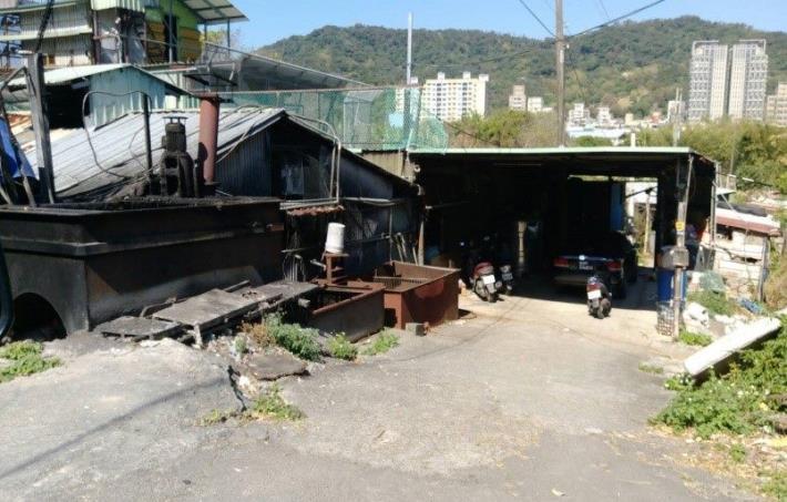 照片2.臺北市私人養豬戶已離牧無復養情形