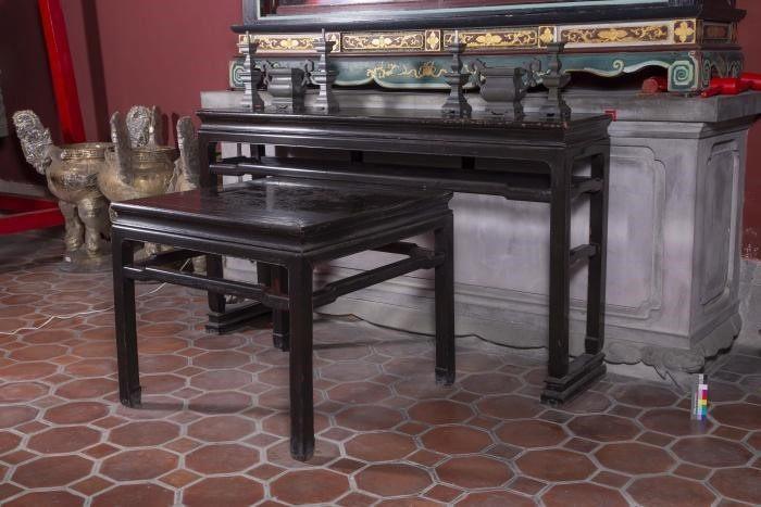 編號12 . 崇聖祠旁桌香案桌