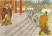 齊景公召見孔子