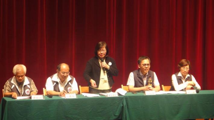 台北及台中民政交流