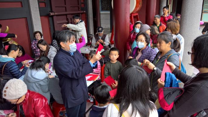2018臺北孔廟「狗年福運」限定剪紙體驗活動