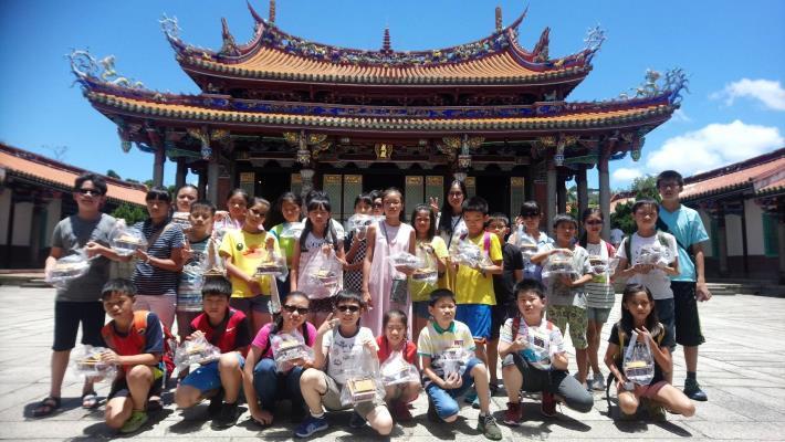 習禮 作扇 話古蹟  臺北市孔廟夏令營 「儒」此有趣