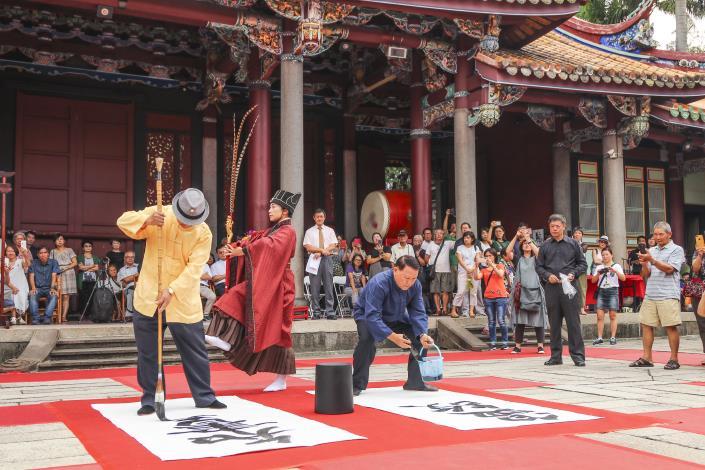 臺北孔廟書法研習班24週年師生成果展 圓滿成功