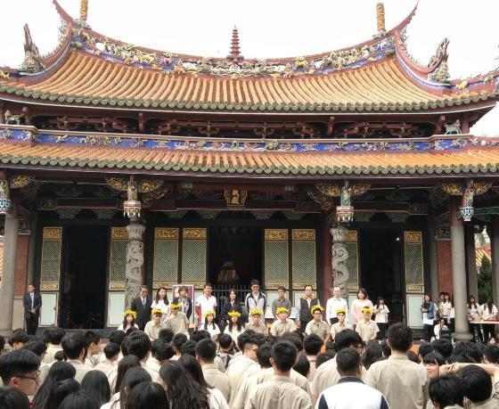 108年3月14日本市私立大同高中成年禮