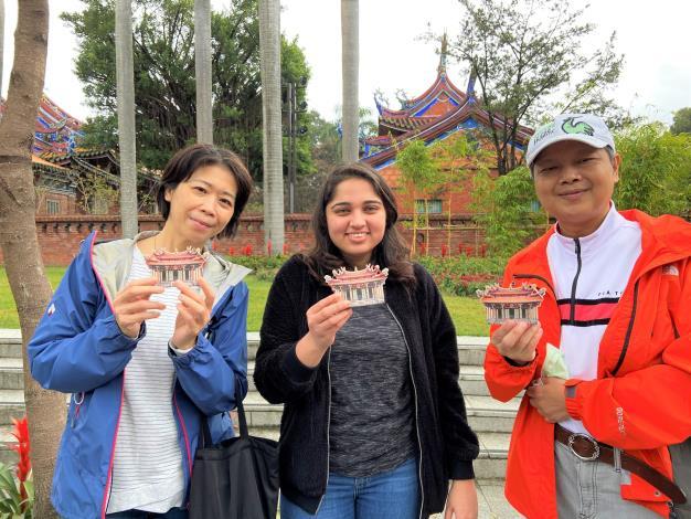 外籍學生體驗孔廟春節活動
