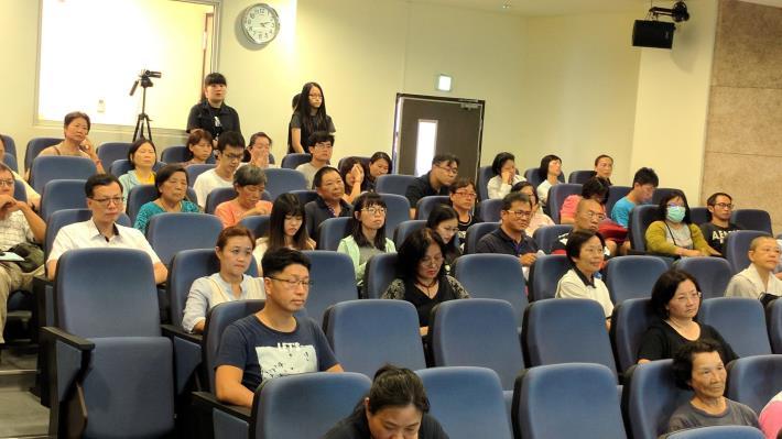 現場聽眾認真聽講,踴躍參與交流。[開啟新連結]