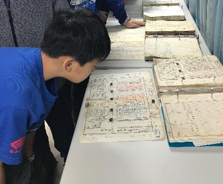 107檔案應用展系列活動-松山國小學生互動活動