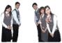 全國首先穿著西裝背心、配戴領帶、領巾、其他戶所亦隨之跟進。