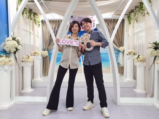 結婚拍照場景宣傳照片