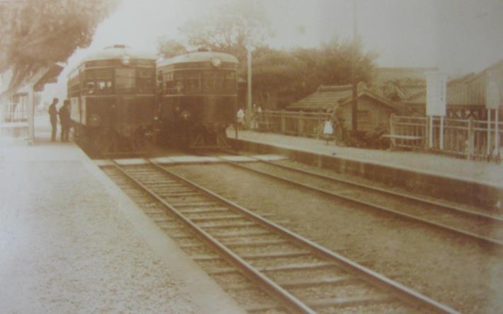 民國17年士林火車站圖片來源由臺北市文獻會提供