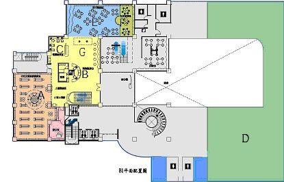 地下一樓地圖