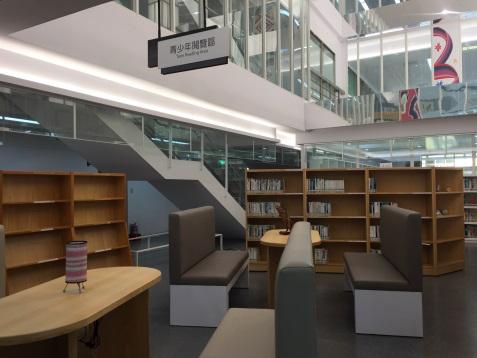 青少年閱覽區