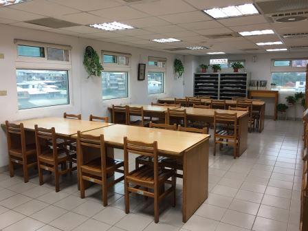 6樓期刊區、報紙閱覽區