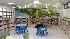 社子島智慧圖書館兒童閱讀區