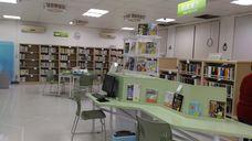 社子島智慧圖書館新書展示區