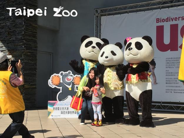 動物園初一到初三都有動物朋友向大家拜年