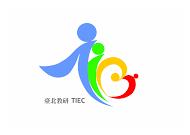 中心英文識別logo