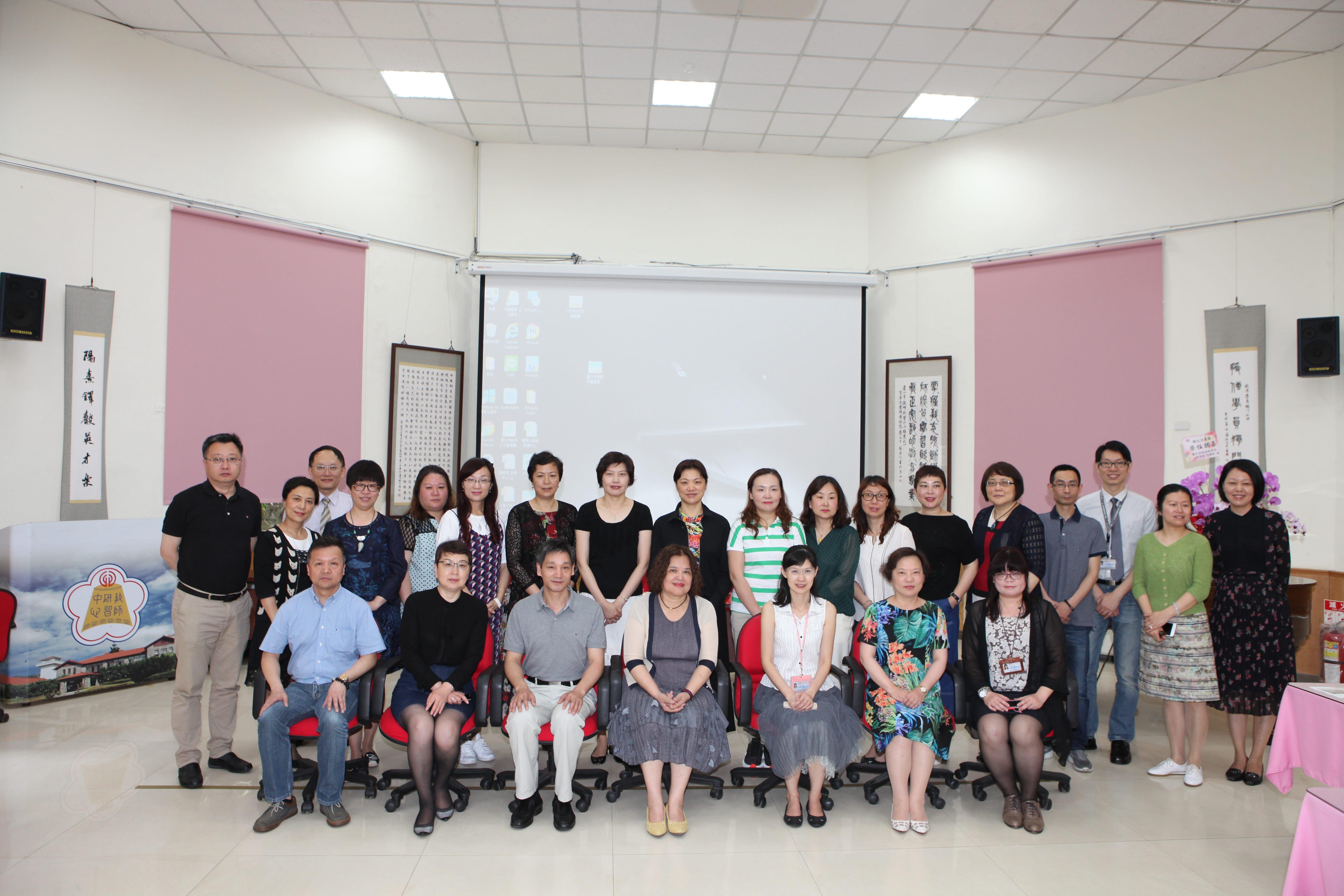 上海市普陀區教育參訪團來訪