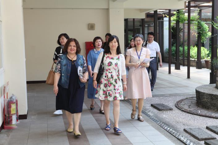 上海市黃浦區教育參訪團來訪