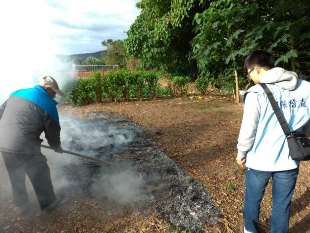 加強取締露天燃燒 為臺北好空氣把關之專案工作成果報告