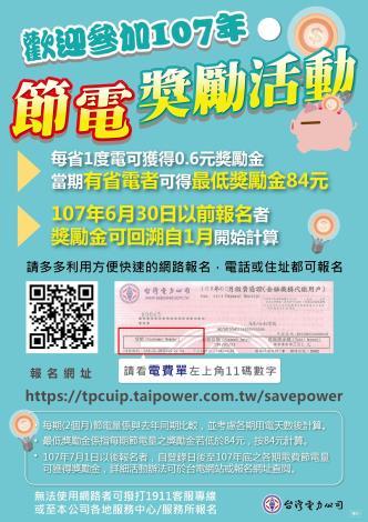 節電活動宣傳海報