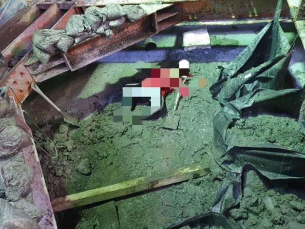 圖說一:北市北投區25日上午9時許,某民間工程單位辦理的新建工程,發生工安意外,造成1名男性勞工被物體飛落擊中,送醫後不治死亡。
