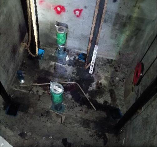 勞工墜落至B3電梯井底