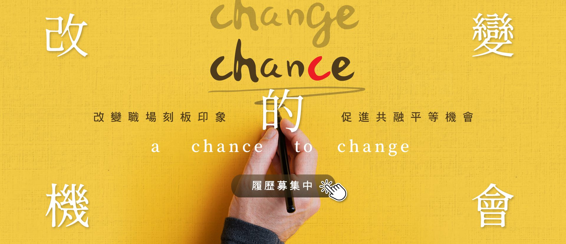 a chance to change  改變的機會
