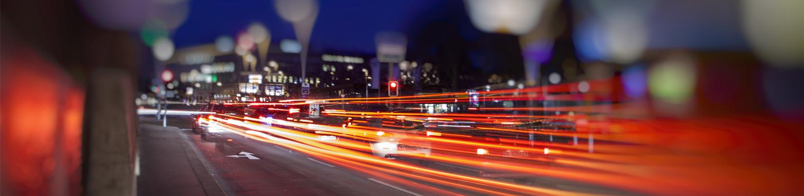 交通管制工程處繁忙街景