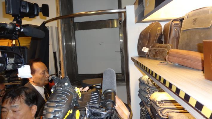 「新光三越百貨南京西路分公司三館」3樓緊急進口封閉[開啟新連結]