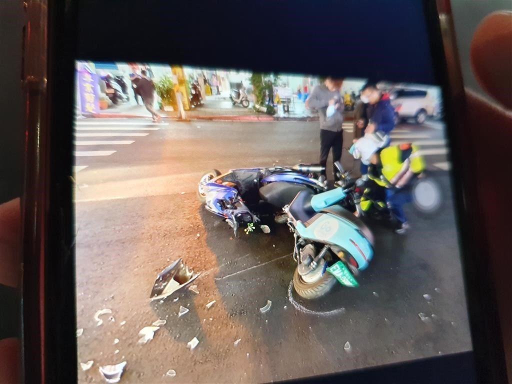 共享機車事故照片2