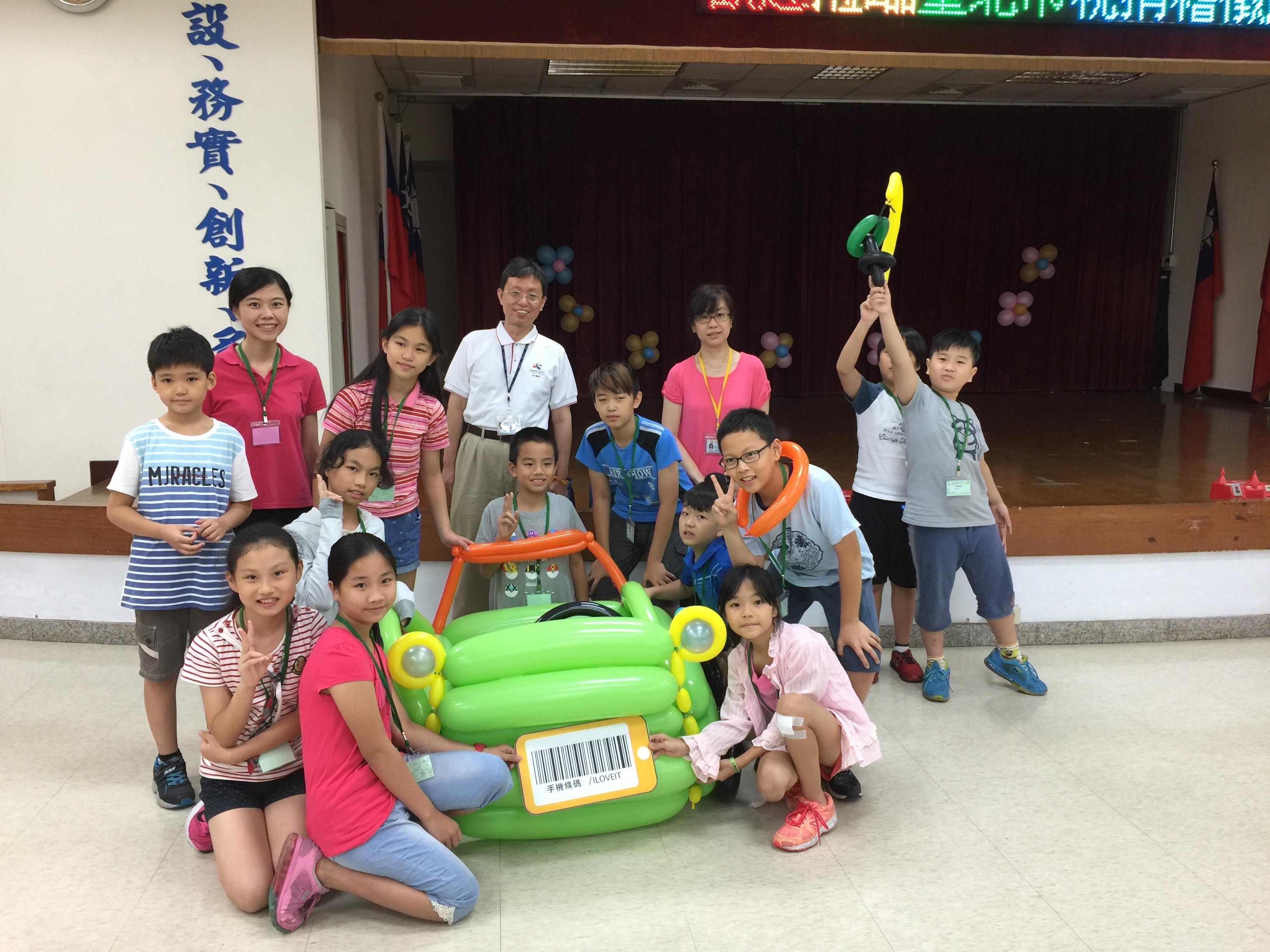 106Fun租稅Fun氣球活動照片23綠隊展示完成作品