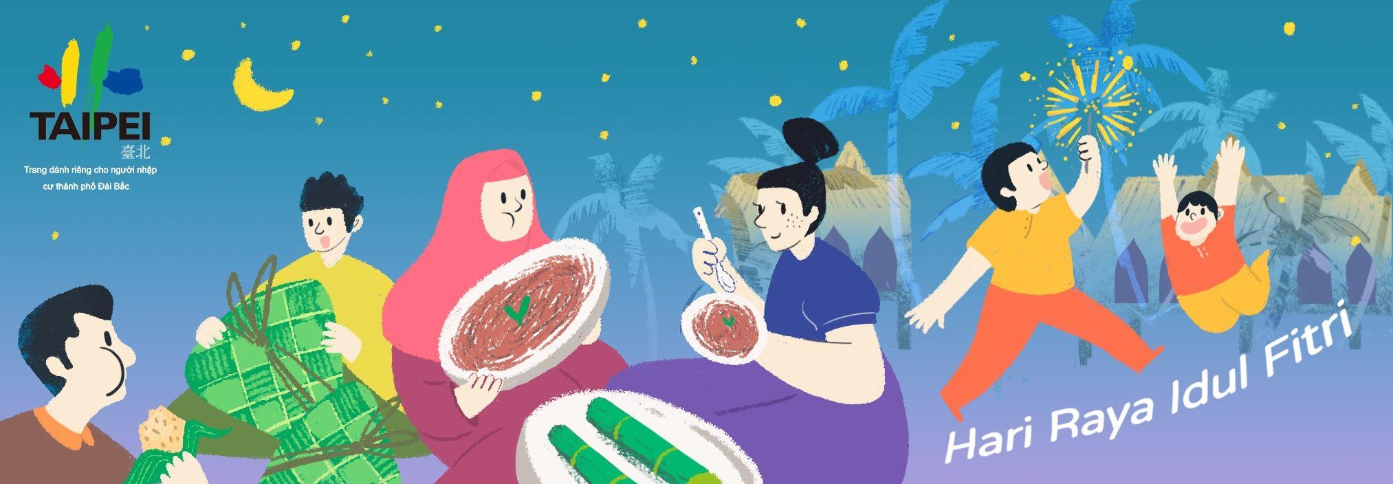 2020-Ngày lễ Eid al-Fitr của Inđônêxia