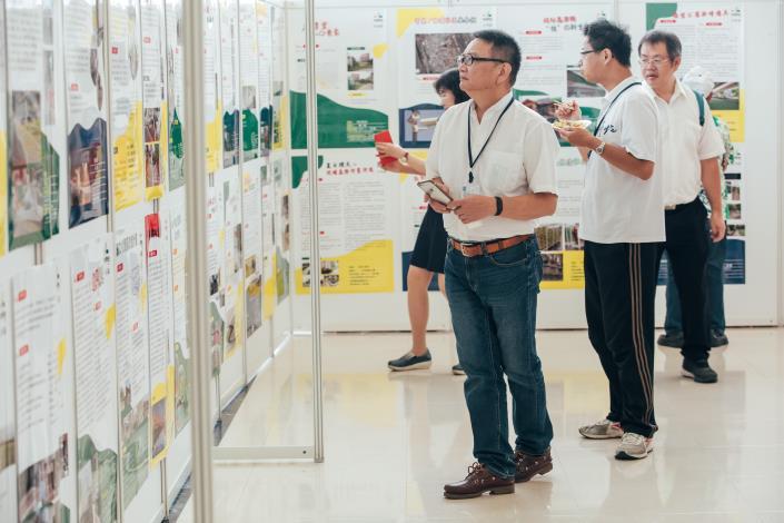 108年參與式預算各區錄案案件展覽