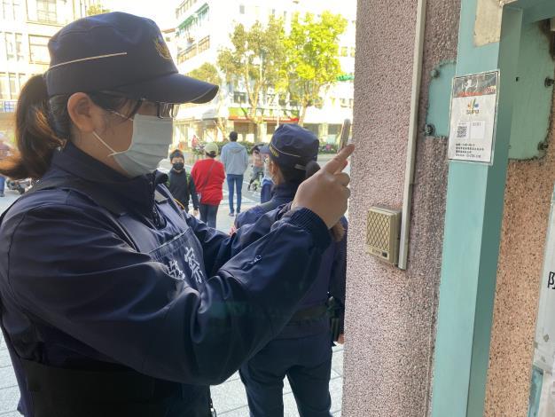 員警於臺北市各區學校簽巡情形.JPG