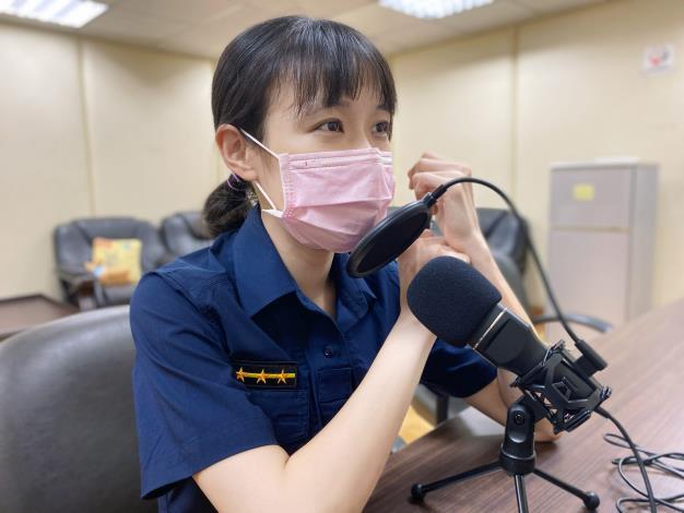 員警在暑假推出兒少性剝削防制節目.JPG