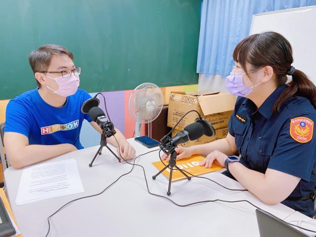 臺北市政府警察局婦幼警察隊與社團法人台灣同志諮詢熱線協會合作宣導性別平等的友善生活環境